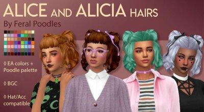 Волосы Alicia