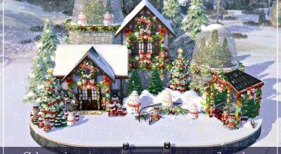 Резиденция Christmas Snowglobe