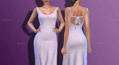 Хлопковое платье DO178