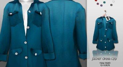 Куртка-платье C179