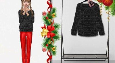 Рождественский свитер C273