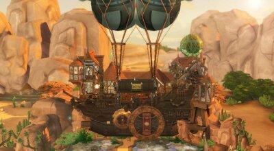 Стимпанк дом Odys