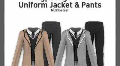 Мужская школьная форма Male Poong-Pa High School Uniform by Nuri