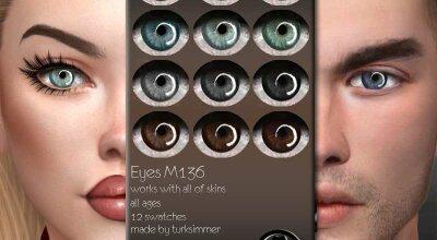 Глаза M136