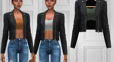 Кожаная куртка 502