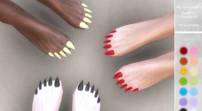 Ногти на ногах Loba 01