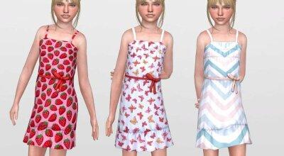 Платье для девочек Summer 01