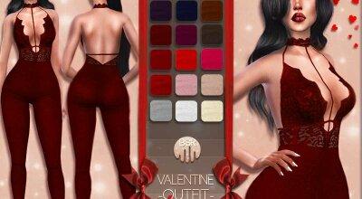 Наряд Valentine BD17
