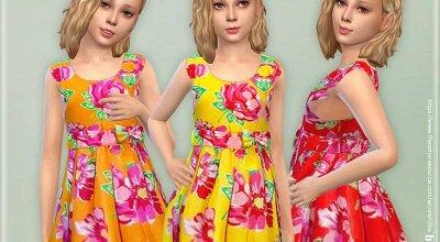 Платье для девочек P141