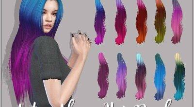 Реколор причёски Aluna