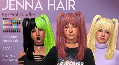 Волосы Jenna