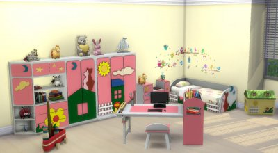 Детская спальня Children's park