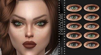 Цвета глаз Z05