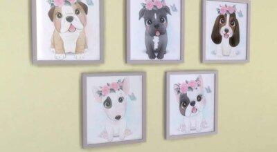 Картины со щенками