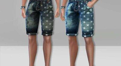 Короткие джинсы Rock