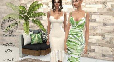 Платье Vitamina
