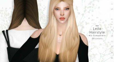 Прическа Leila