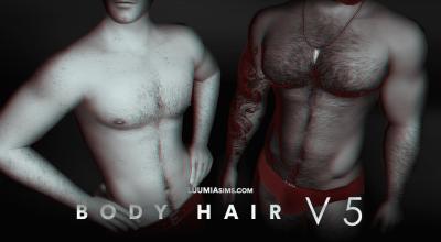 Волосы на груди Body Hair V5+