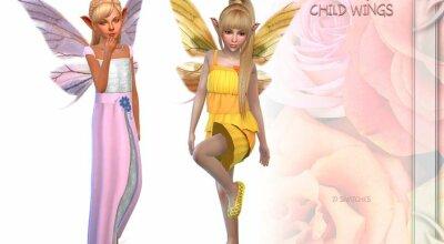 Детские крылья феи